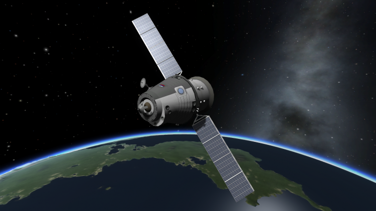 Как сделать в kerbal space program спутник в новом - Раум Профи